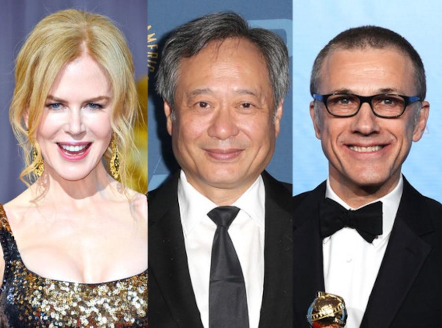 Ang Lee,Nicole Kidman, Christophe Waltz