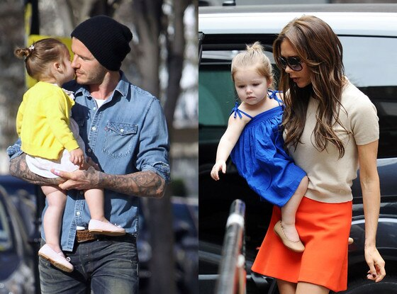 David Beckham, Victoria Beckham, Harper Seven
