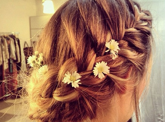 Lauren Conrad, Up Do, Instagram