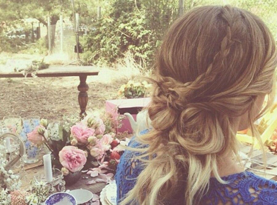 Lauren Conrad, Up Do, Instagram