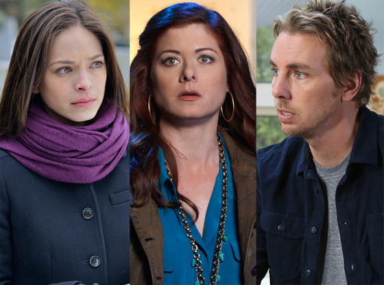 Debra Messing, Smash Dax Shepard, Parenthood Kristin Kreuk, Beauty and the Beast