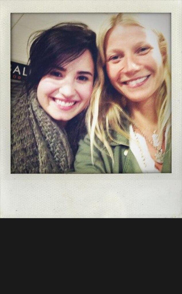 Demi Lovato, Gwyneth Paltrow, Twitter