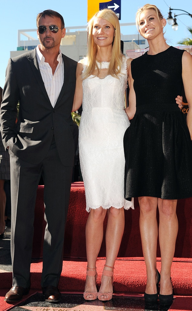 Tim McGraw, Gwyneth Paltrow, Faith Hill