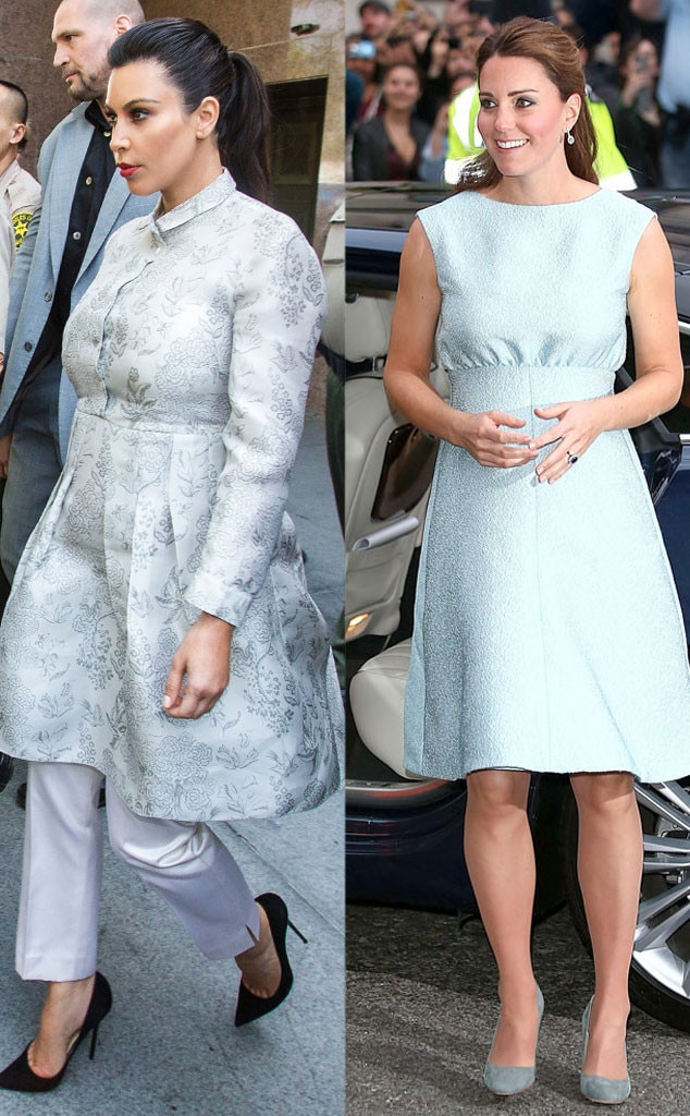 Kim Kardashian, Kate Middleton