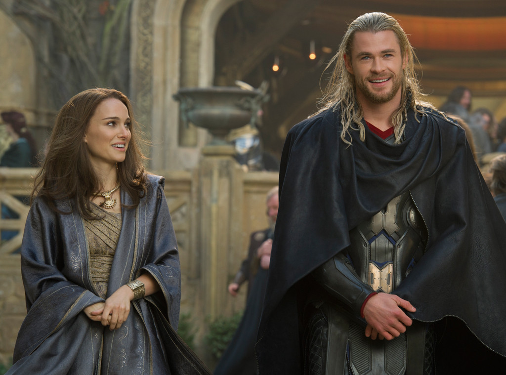 Thor Dark World, Natalie Portman, Chris Hemsworth
