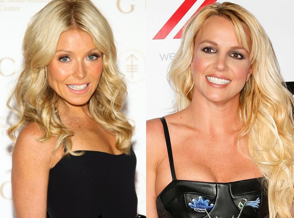 Kelly Ripa, Britney Spears