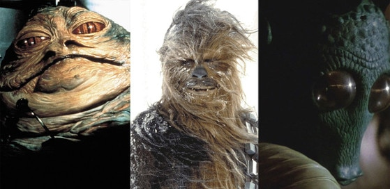 Chewbacca, Jabba the Hutt, Greedo, Star Wars, Best Aliens