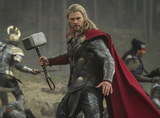 Thor Dark World, Chris Hemsworth
