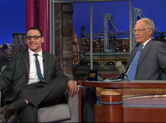 A.J. Clemente, David Letterman
