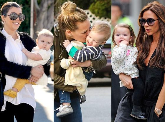 Celebrity Babies Split