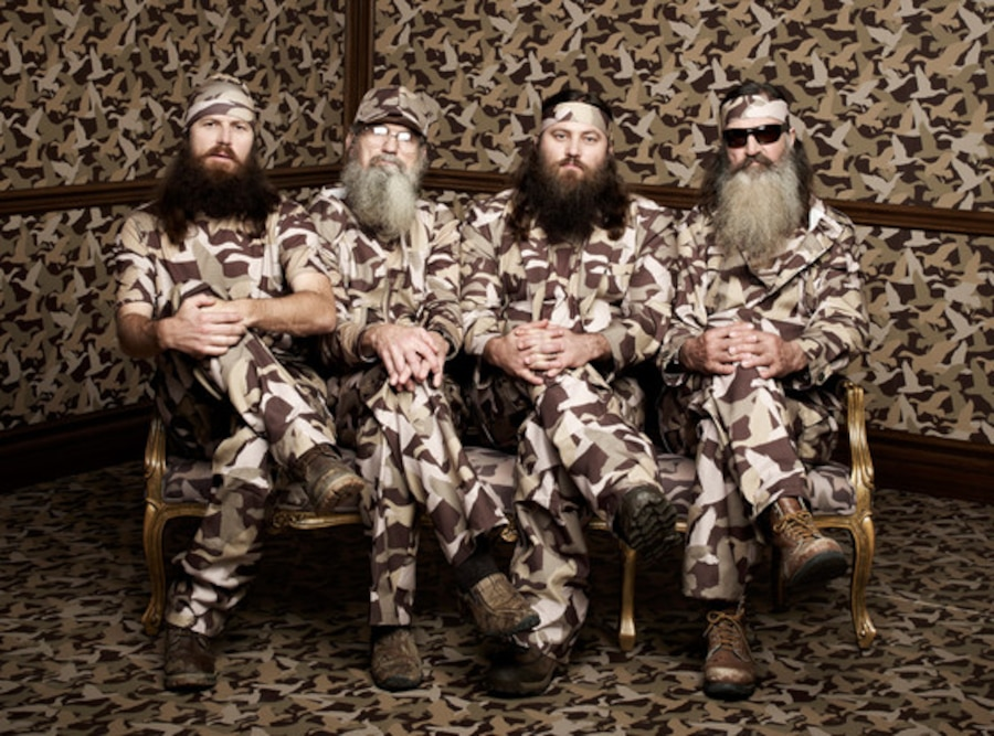 Jase Robertson, Si Robertson, Willie Robertson, Phil Robertson, Duck Dynasty