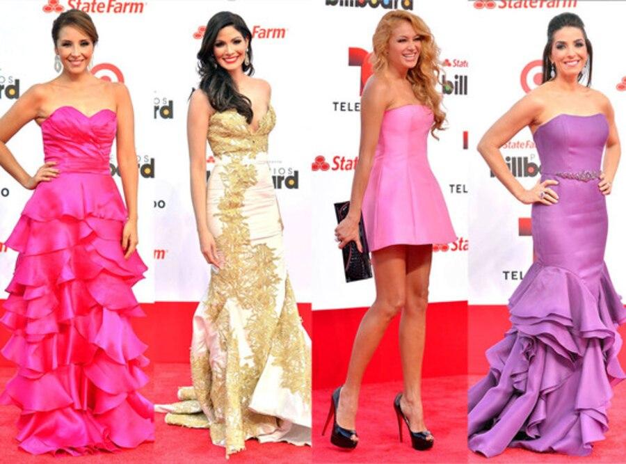 Best Dressed, Latin Billboard