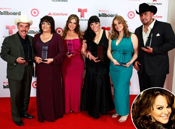The family of Jenni Rivera, Latin Billboard Awards, Jenni Rivera