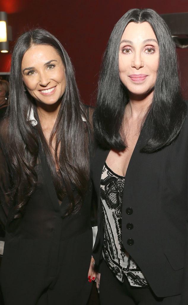 Demi Moore, Cher
