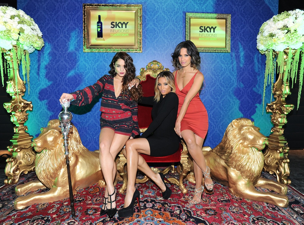 Vanessa Hudgens, Ciara, Rocsi