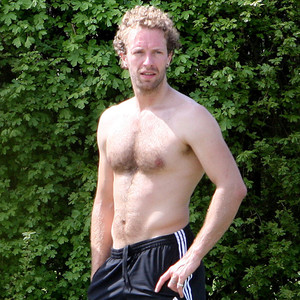 Chris Martin, Shirtless