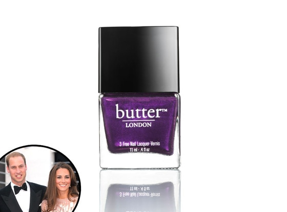 Butter Nail Polish, Kate Middleton, Prince William