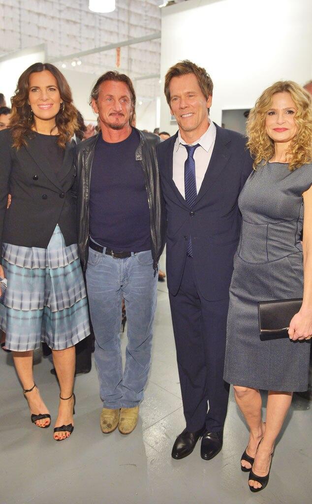 Roberta Armani, Sean Penn, Kevin Bacon, Kyra Sedgwick