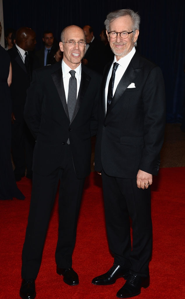 Jeffrey Katzenberg, Steven Spielberg