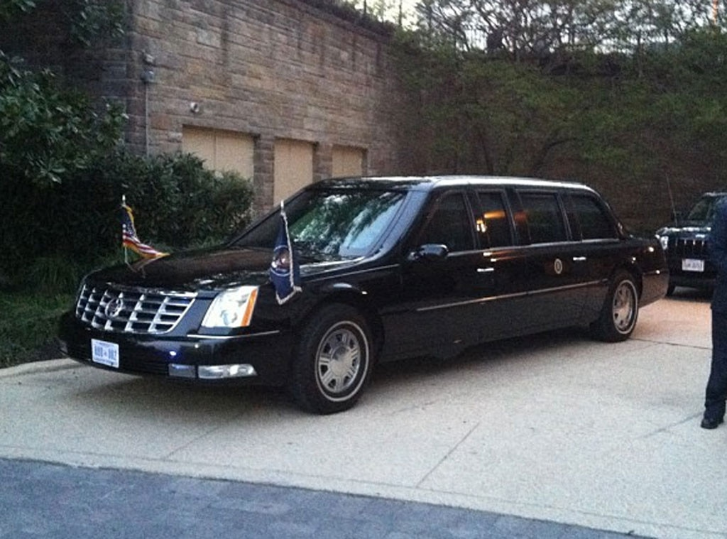 WHCD Dinnner, Malkin Twit Pics, Presidents car