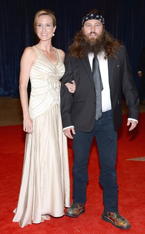 Korie Robertson, Willie Robertson, White House Correspondents' Association Dinner