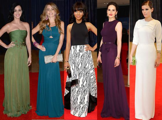 Katy Perry, Sofia Vergara, Kerry Washington, Michelle Dockery, Kate Mara