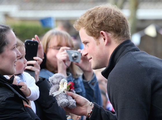 Prince Harry, Teddy Bear