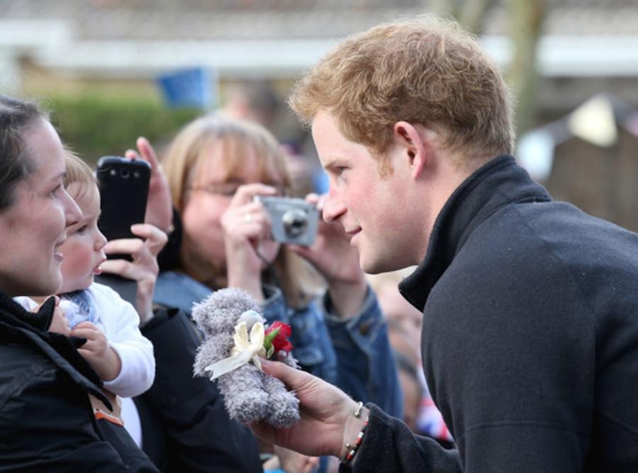 Prince Harry, Teddy Bear