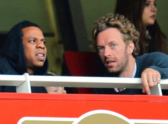 Chris Martin, Jay-Z