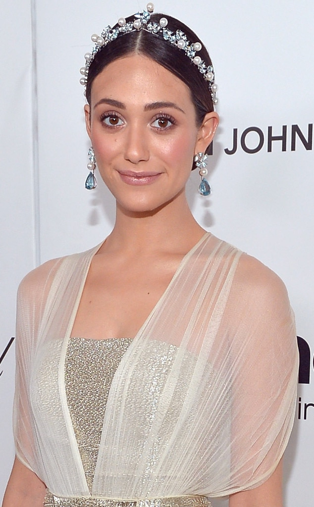 Emmy Rossum, Elton John Oscars Party