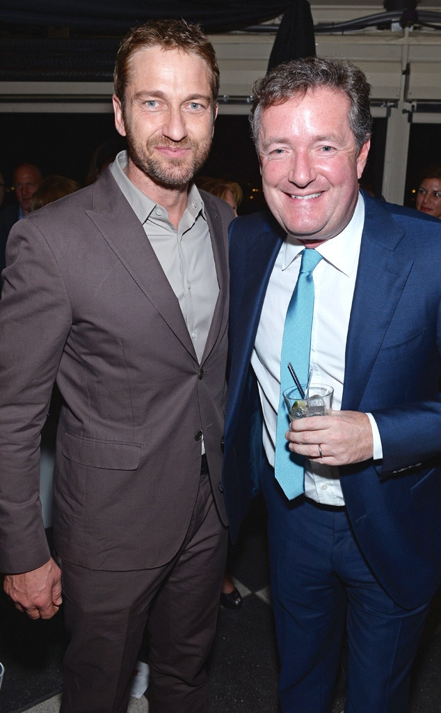 Gerard Butler, Piers Morgan, The New Yorker's David Remnick Hosts White House Correspondents' Dinner Weekend Pre-Party