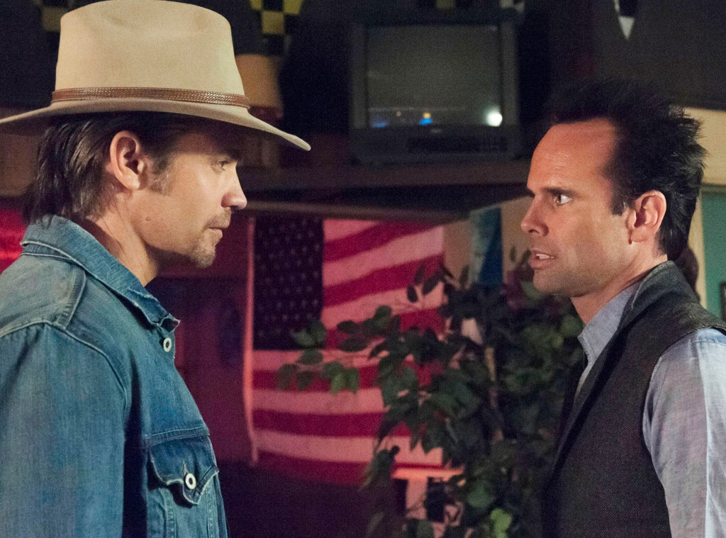 Timothy Olyphant, Walton Goggins, Justified