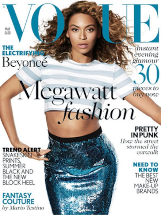 Beyonce Vogue UK