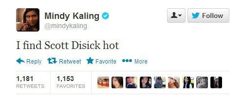 Lord Disick, Mindy Kaling