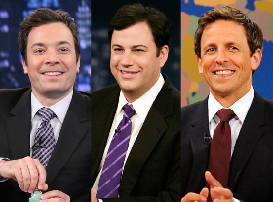 Jimmy Fallon, Jimmy Kimmel, Seth Meyers