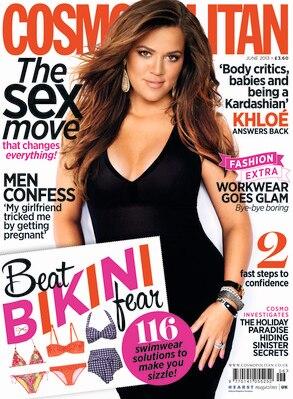 Khloe Kardashian, Cosmopolitan