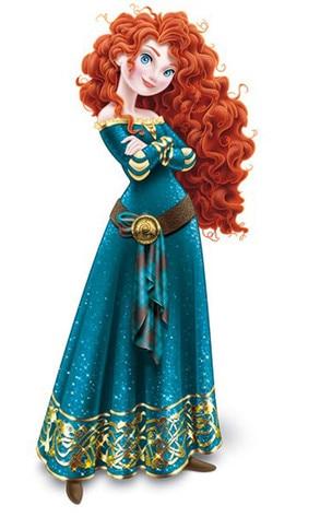 Merida, Disney Princess