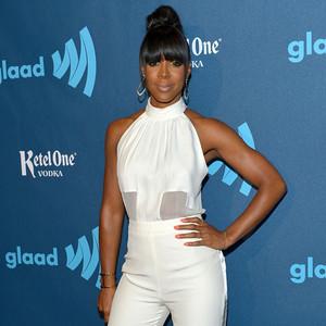 Kelly Rowland, GLAAD Media Awards, Jumpsuit