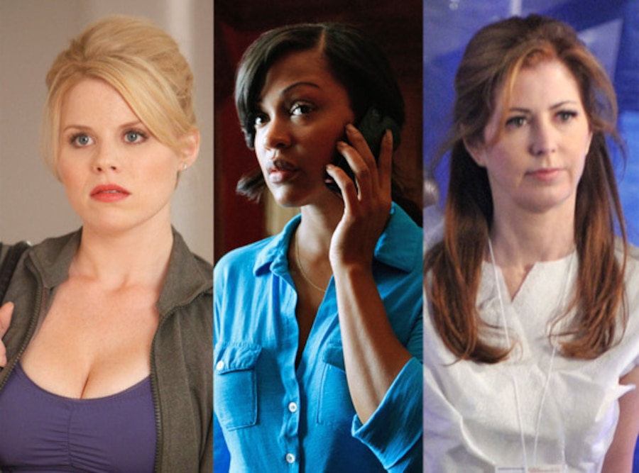 Save One Show, Megan Hilty, Smash, Dana Delaney, Body of Proof, Meagan Good, Deception