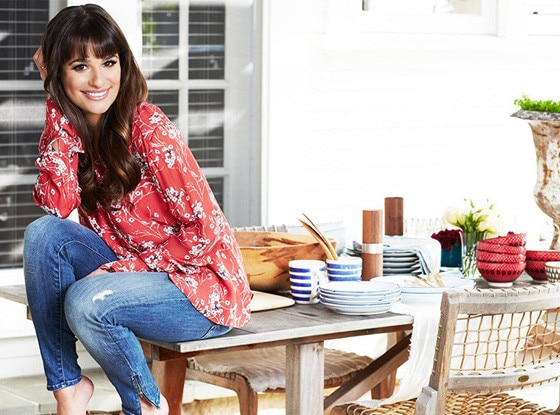 Lea Michele, Domaine Home, domainehome.com