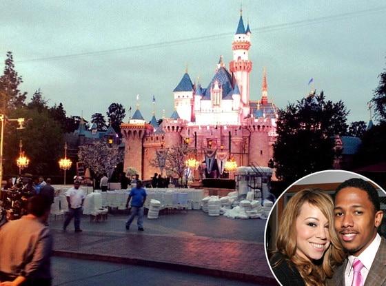 DisneyLand Castle, Mariah Carey, Nick Cannon
