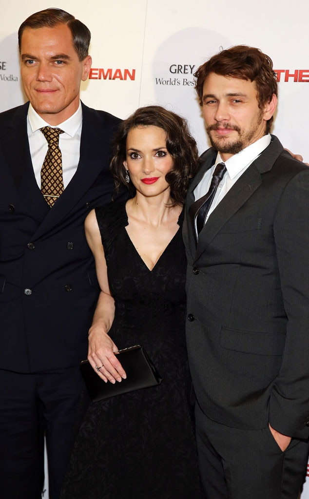 Michael Shannon, Winona Ryder, James Franco
