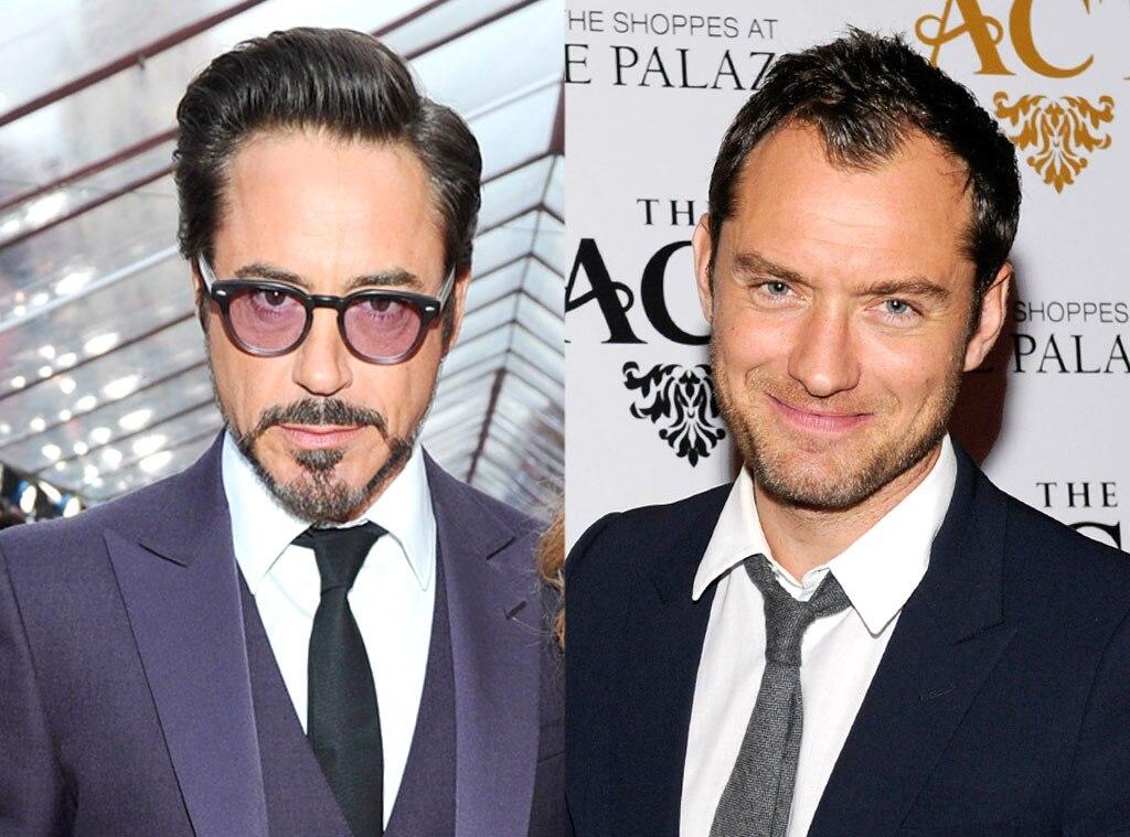 Robert Downey, Jr., Jude Law
