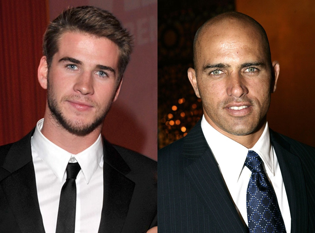 Liam Hemsworth, Kelly Slater