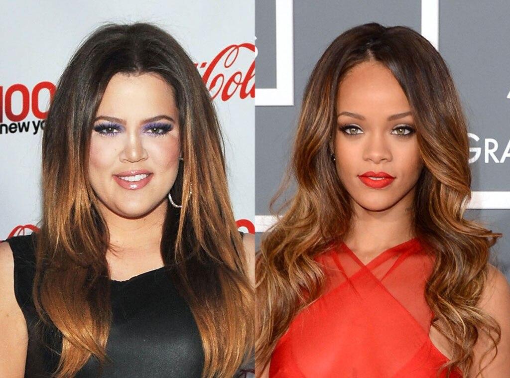 Khloe Kardashian, Rihanna
