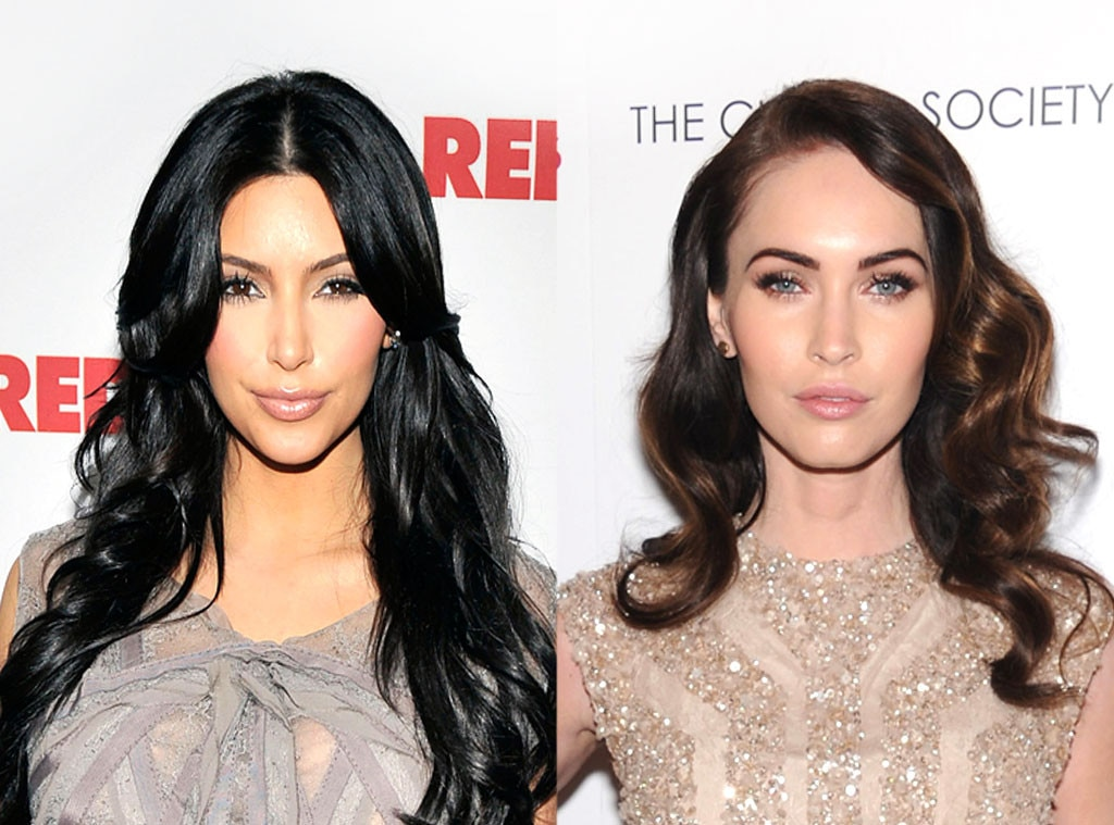 Kim Kardashian, Megan Fox