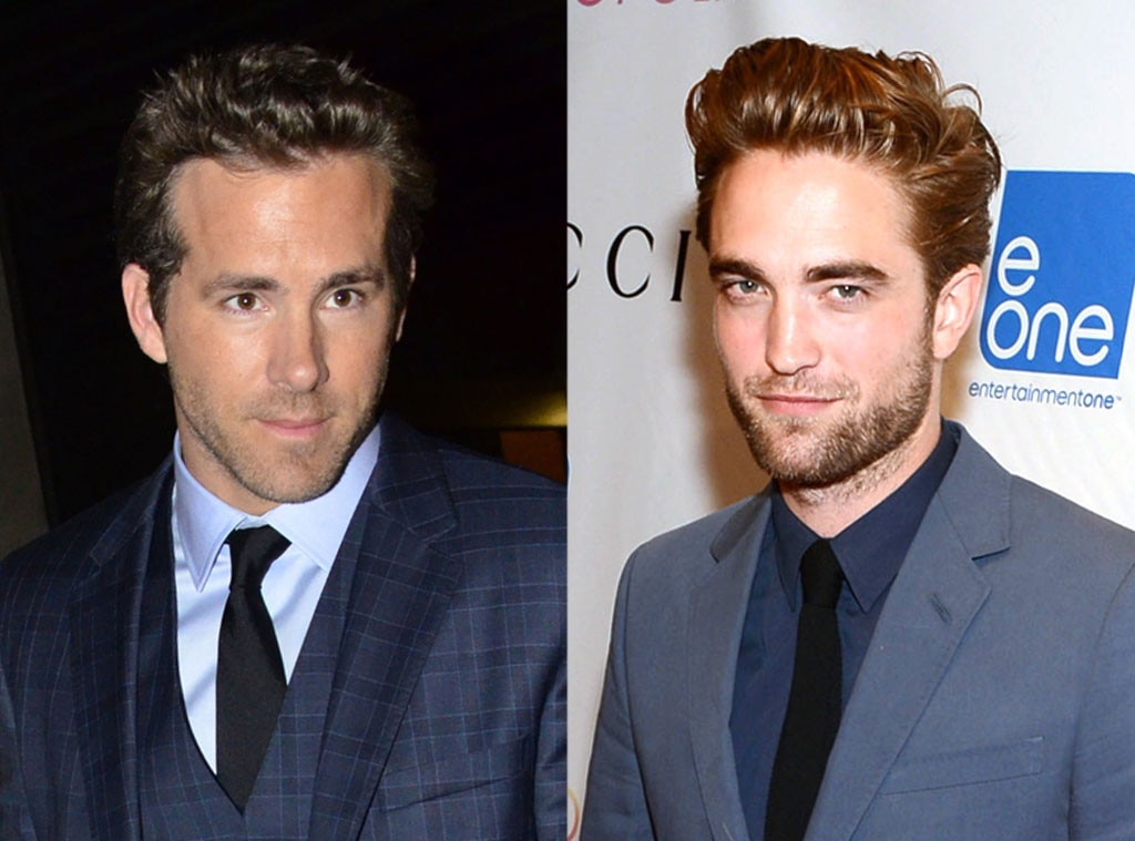 Ryan Reynolds, Robert Pattinson