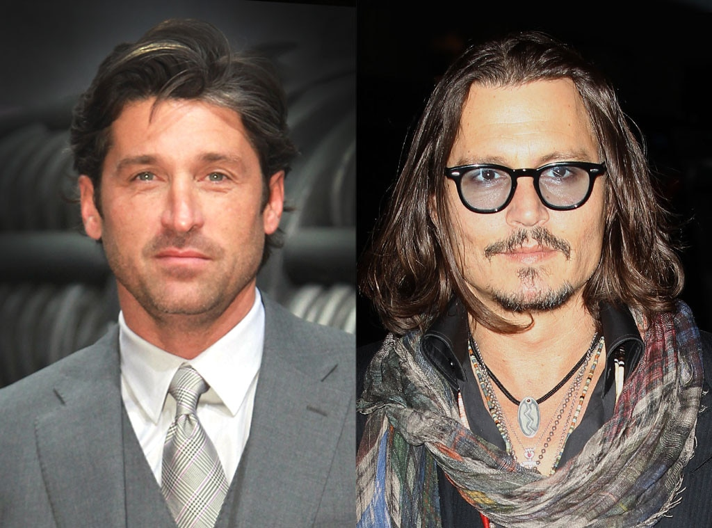 Patrick Dempsey, Johnny Depp
