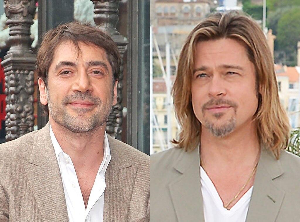 Javier Bardem, Brad Pitt
