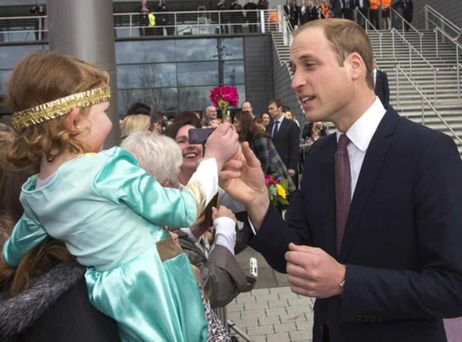 Prince William, Girl